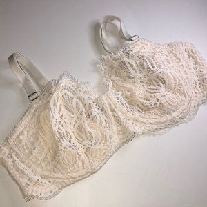 Victoria's Secret Lace Bra 38D